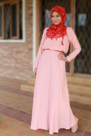 EDZ eightDesigns Malaysia's online shopping fashion blogspot | cardigan | shawl | tops | shoes: Gathered Waist Maxi Dress - Elena