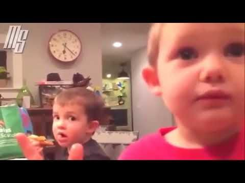 Try to stop laughing @ Funny Videos of Kids @ World Cutest Babies Funnie...
