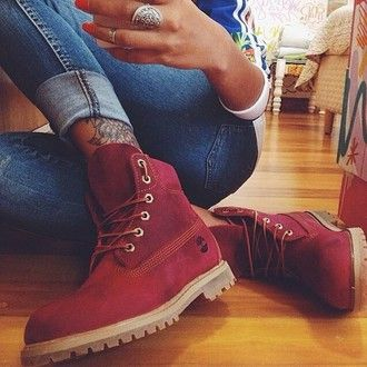 Red Boots - Shoes