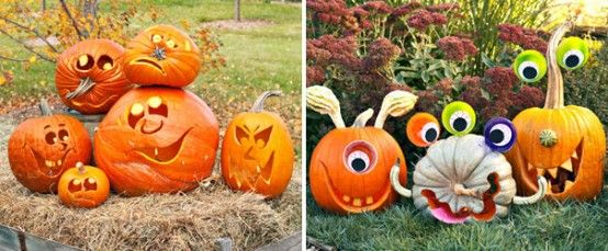 Pumpkin Carving Arrangements!