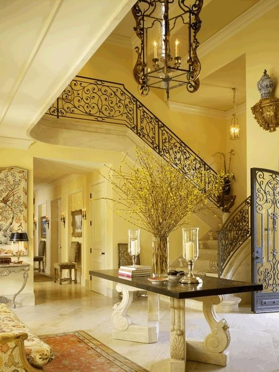 Best 20 foyer staircase ideas on pinterest for Classic foyer design