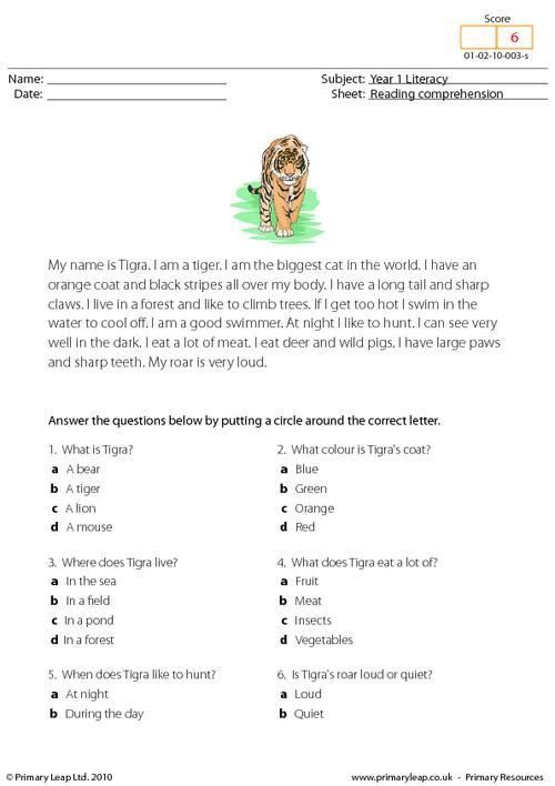 math worksheet : 1000 images about worksheets reading prehension on pinterest  : 4th Grade Reading Comprehension Worksheets Multiple Choice