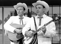 Bluegrass legend and banjo pioneer Earl Scruggs, who helped profoundly change country music with Bill Monroe in the 1940s and later with guitarist Lester Flatt, has died. He was 88. Photos: Earl Scruggs and Lester Flatt feeling soulful.