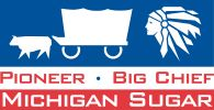 Michigan Sugar Michigan Sugar Company is an agricultural cooperative, based in Bay City, Michigan, that specializes in the processing of beet sugar. Founded in 1906, Michigan Sugar sells beet sugar under the brand names Big Chief and Pioneer.