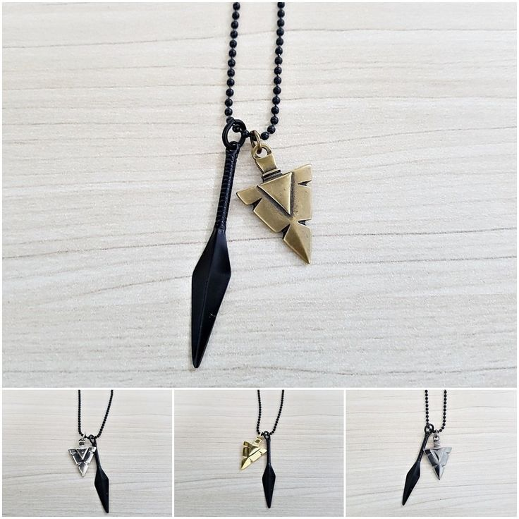 Colar Corrente Masculino Pingente Ponta De Flecha Lança mens necklace style fashion cool Cocar Brasil