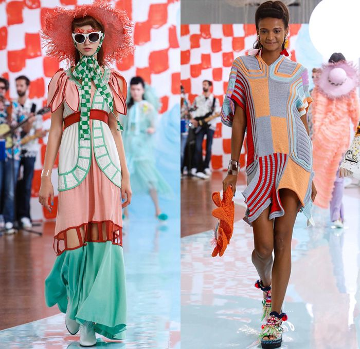 Tsumori Chisato 2018 Spring Summer Womens Runway Catwalk Looks Mode A Paris Fashion Week France Rockabilly Fashion Denim Jeans Fashion Fashion Week Runway