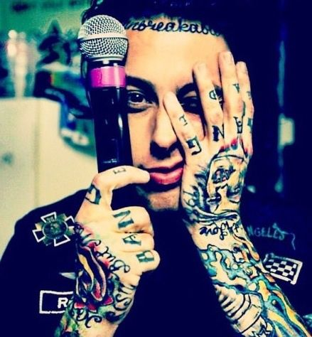 ronnie radke, falling in reverse, and music image