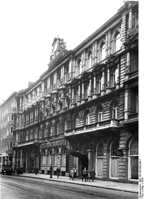 1934 Hotel Prinz Albrecht,Prinz-Albrecht-Strasse 9 (Gestapo Berlin)