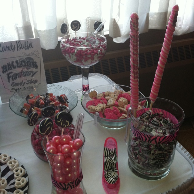 Candy Buffet At My 50th Party!