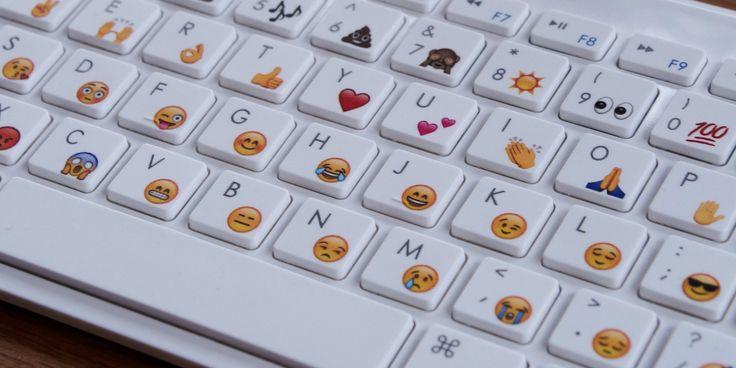 EmojiWorks is selling three different types of emoji keyboards.