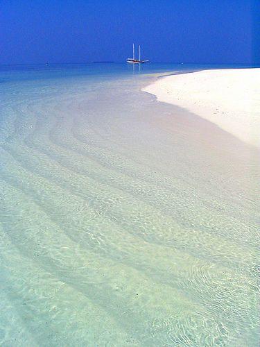 The Maldives - pristine!