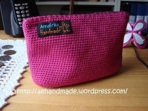 Cute beautybag. AnnaErika Handmade.