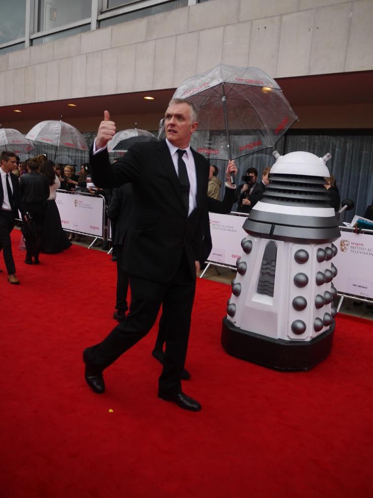 Greg Davies...and a Dalek