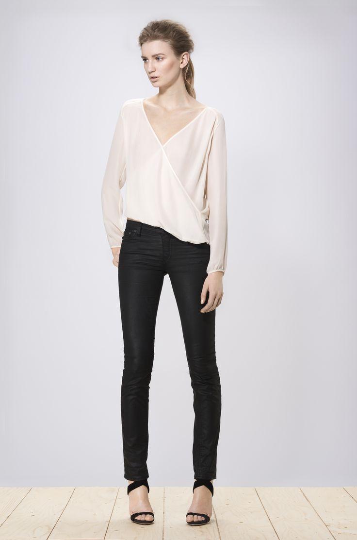 Hideko blouse white