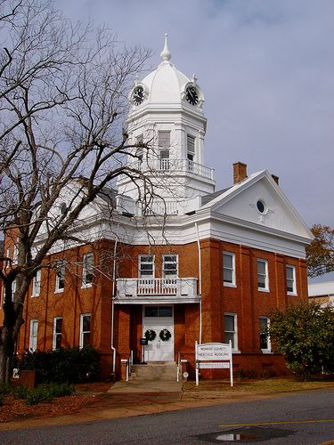 """The Old Courthouse Museum is an historic site in Monroeville, Alabama. Harper Lee put Monroeville on the map when she wrote """"To Kill A Mockingbird.""""  The city is the hometown of Harper Lee as well as Truman Capote."""