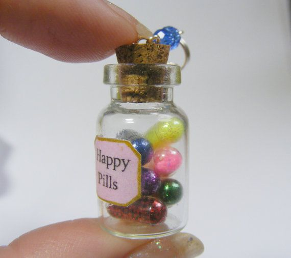 25 best ideas about happy pills on pinterest work gifts for Pill bottle jewelry
