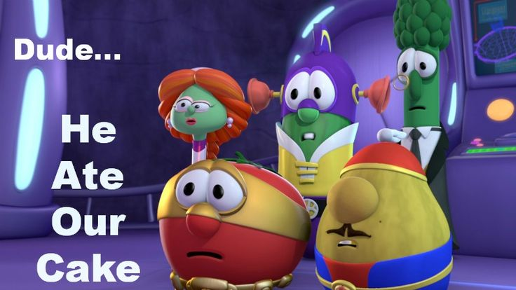 VeggieTales, The League of Incredible Vegetables Silly Song