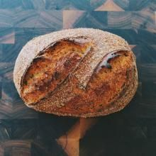 Buttermilk and Honey Whole-Wheat Sandwich Bread | The Fresh Loaf*** incorporate flax and oats