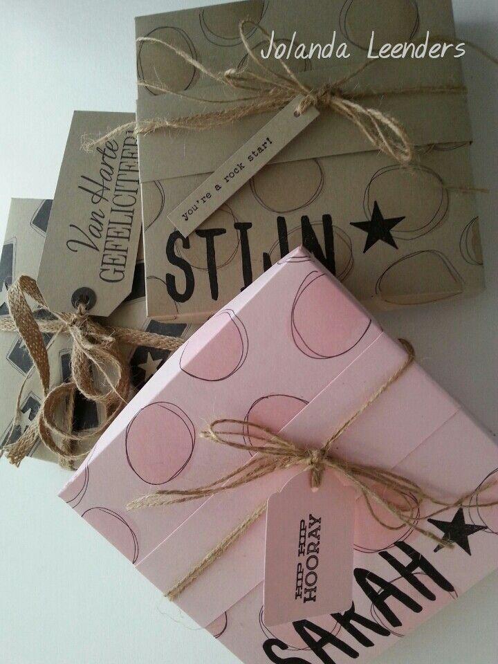 Persoonlijke cadeau doosjes