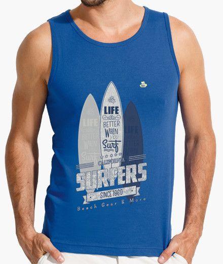 Camiseta Surfing Camiseta hombre sin mangas  19,90 € - ¡Envío gratis a partir de 3 artículos!
