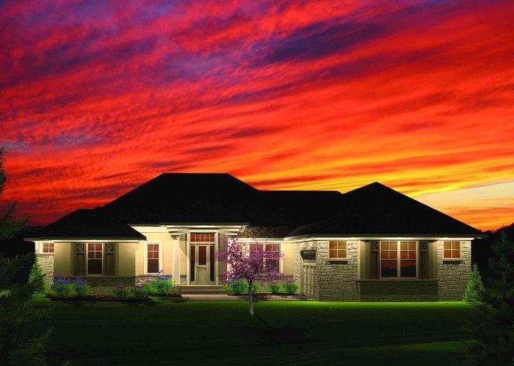 Plan 89825ah 2 Bedroom Hip Roof Ranch Home Plan The Den