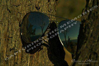 Sunglasses reflection