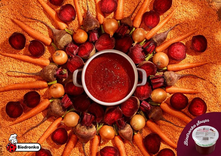 Let me say something, I have never tried the Biedronka  soups, but these photos are amazing!            Credits:  Advertising Agency: Duda P...
