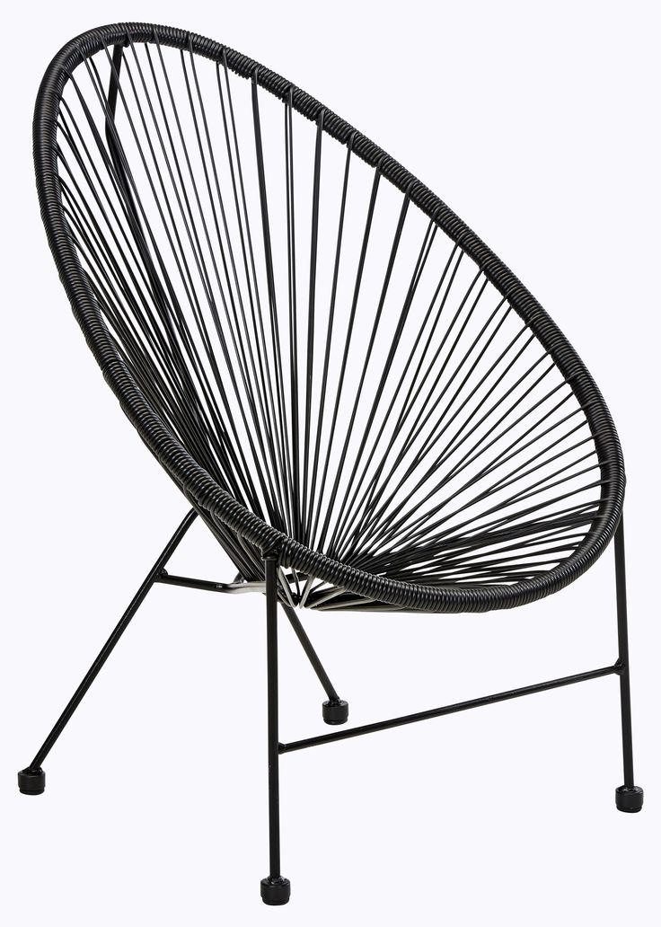 Køb Gibaro loungestol i sort - Børnemodel på Bilka.dk | Se også hele udvalget af Havestole