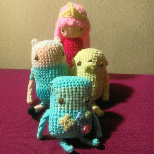 Amigurumi Beemo : +1000 ideias sobre Croch? Tempo De Aventura no Pinterest ...