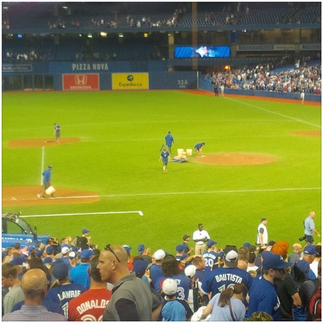 Got to thank my #sister and her #husband for great seats to a great game tonight at #skydome. The #bluejays were impressive the crowd was awesome. And I have to say thanks to the best #sister  and #brotherinlaw  a guy could ever have. I think its time for another trip to #Greece.