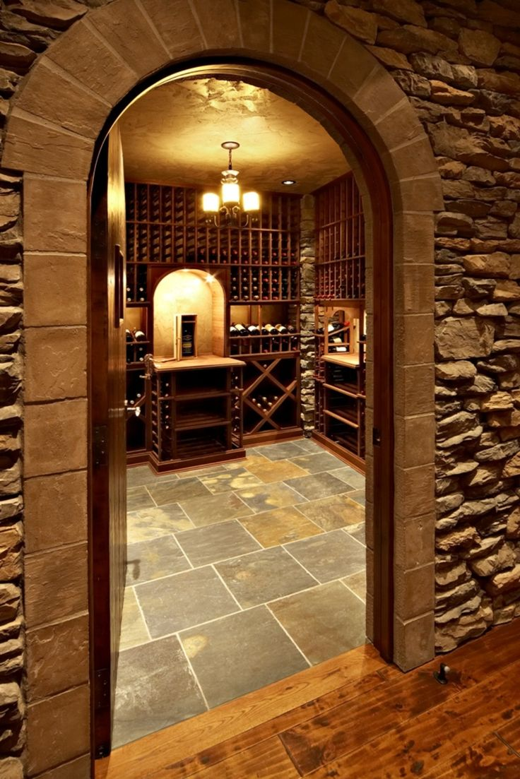 61 Best Wine Cellars With Stone Style Images By J Amp J