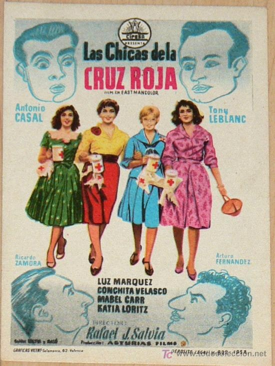 Spanish film from the 50's but full of Spanish idioms. A good comedy (kind of naive) but very useful if you want to learn colloquial Spanish. www.spanishcronopios.info