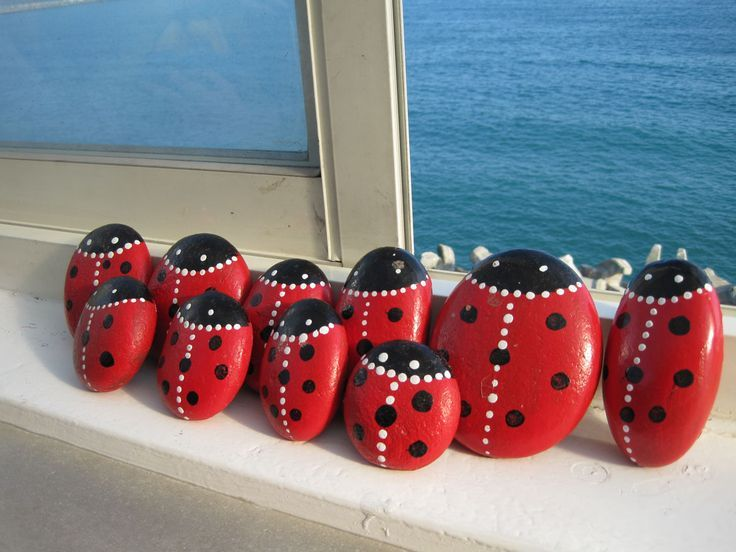 138 best images about painted rocks - bugs, beetles, ladybugs on ...