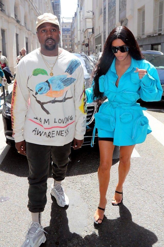 eecca5348f9de Kanye West wearing Yeezy Three-Pack Multicolor  Calabasas  Socks