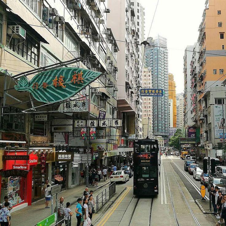 Hot & rainy. #HongKong