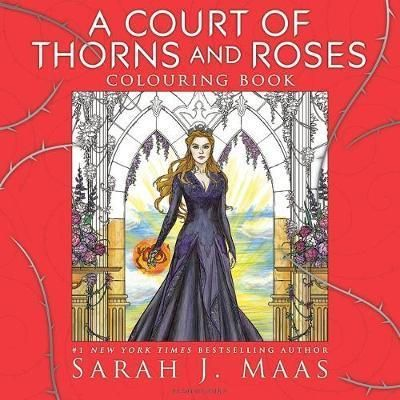 A Court of Thorns and Roses Colouring Book : Sarah J. Maas : 9781408888421   The #1 New York Times bestselling A Court of Thorns and Roses series is brought to life in this stunning new colouring book. This must-have companion invites readers to experience and colour in the vivid imagery of Sarah J. Ma…
