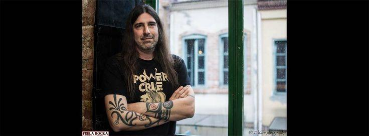 Συνέντευξη: ΘΑΝΑΣΗΣ ΜΠΕΡΤΣΑΤΟΣ - Ο κύριος WRECK Festival #interview #festival #gig #live #powercrue #wreckathens