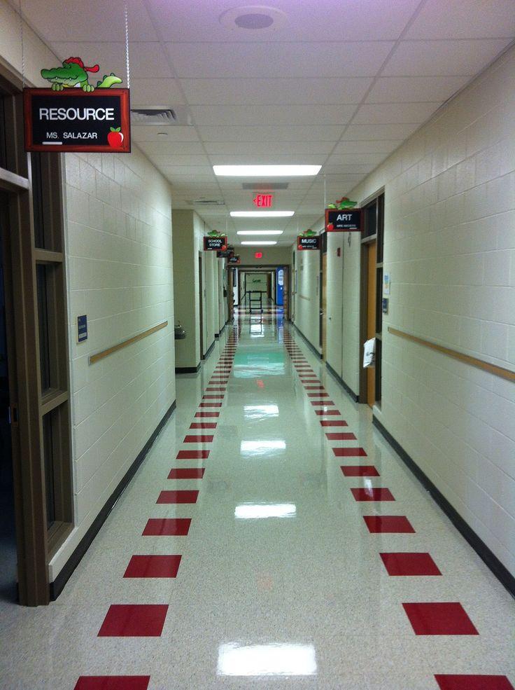 School Hallway Signs Teacher Sign These are a custom