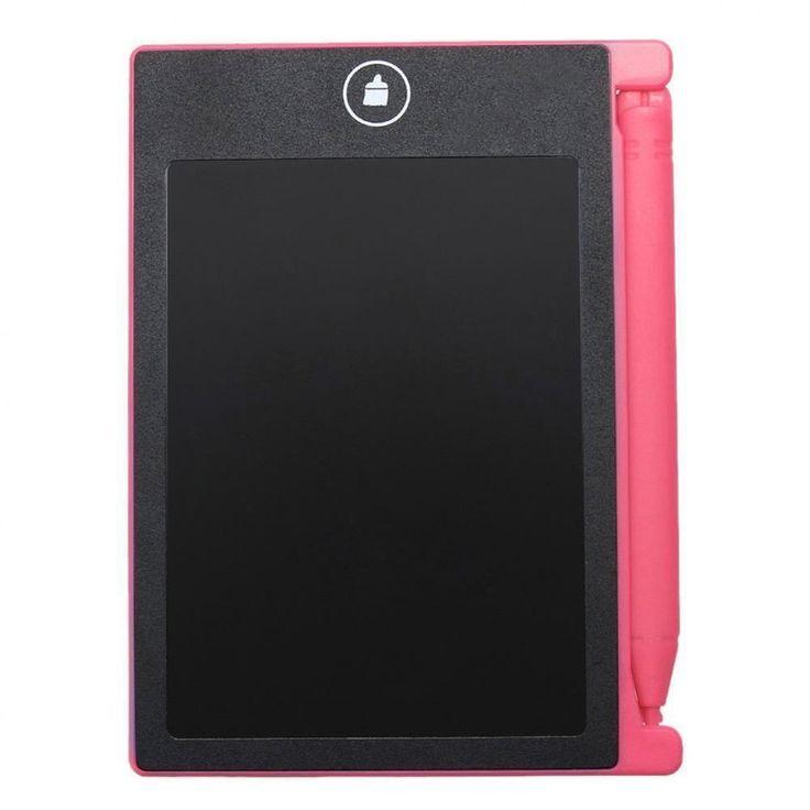 "Digital Writing Pad Tablet Painting Board Graphic 4.4"" LCD Home School Office #UnbrandedGeneric #TabletLCD"