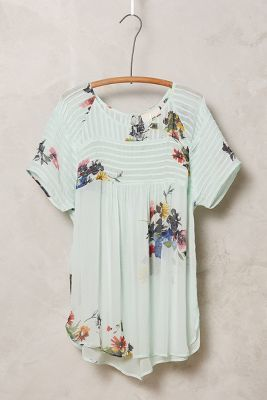 One Fine Day Springtide Pintuck Blouse