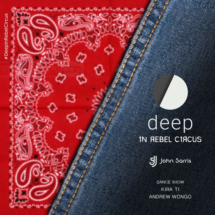 Deep in Rebel Circus, για την πιο ανατρεπτική σας έξοδο μέχρι σήμερα. Χωρίς κανόνες ενδυματολογικούς, χωρίς όρια στη διασκέδαση, χωρίς σύνορα στις γνωριμίες σας, χωρίς περιορισμούς σε μουσική και εκπλήξεις! #DeepinRebelCircus #FridayNight #clubbing
