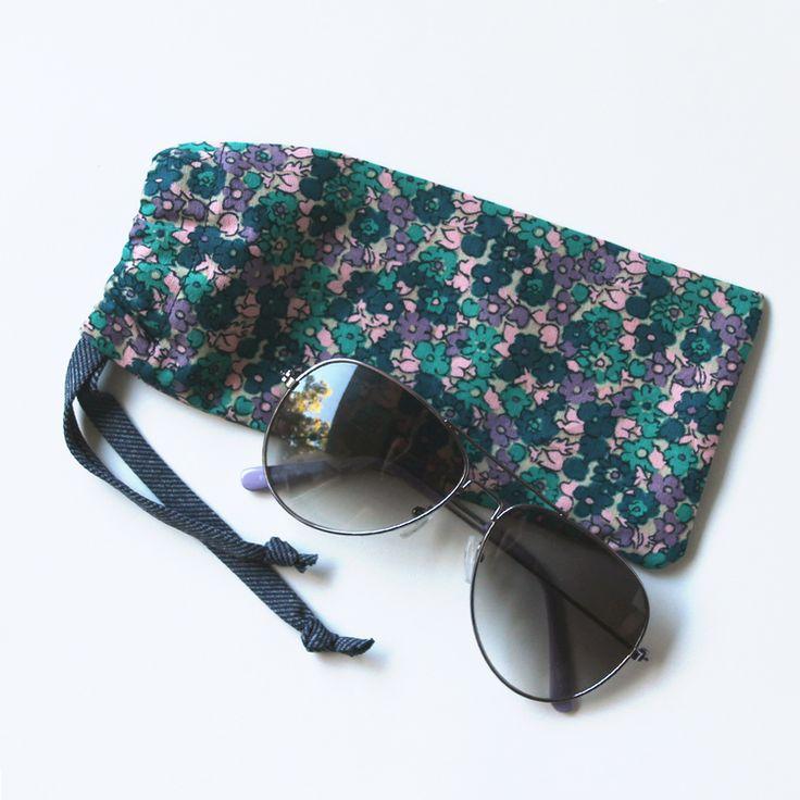 DIY: sunglasses case
