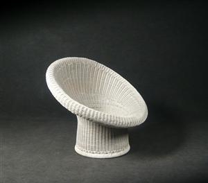 m bel egon eiermann korbsessel modell e 10 f r h murmann de d sseldorf. Black Bedroom Furniture Sets. Home Design Ideas
