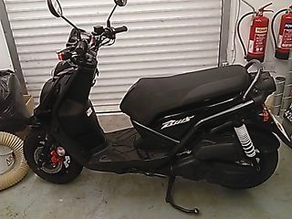 Yamaha BWS 125cc scooter - http://motorcyclesforsalex.com/yamaha-bws-125cc-scooter/