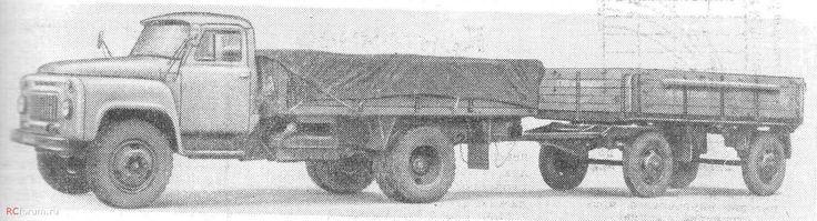 ГАЗ-53-0,5 с прицепом ГКБ-816 1968 год