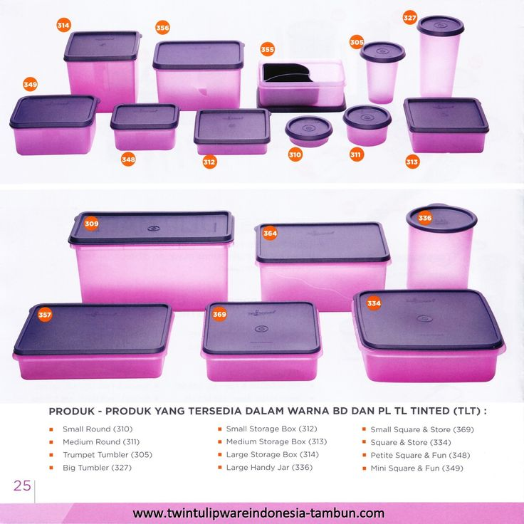 Tinted Colours for Tulipware