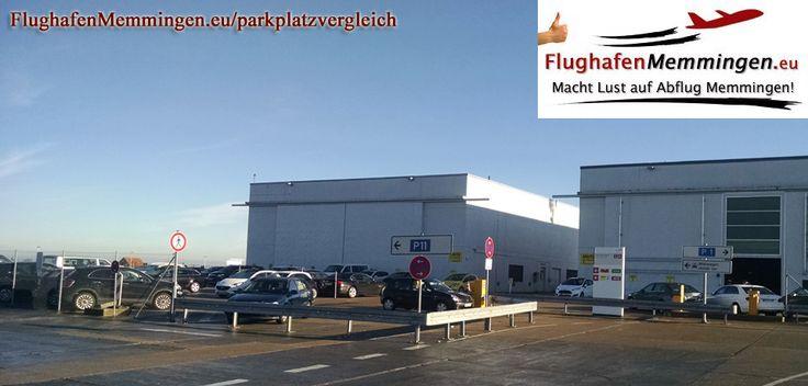 Parken Flughafen Memmingen Airport Parkplatz Parkgebühren   FlughafenMemmingen.eu