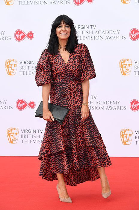 f47257a5fe40 Image result for ganni red leopard dress claudia winkleman | Fashion ...