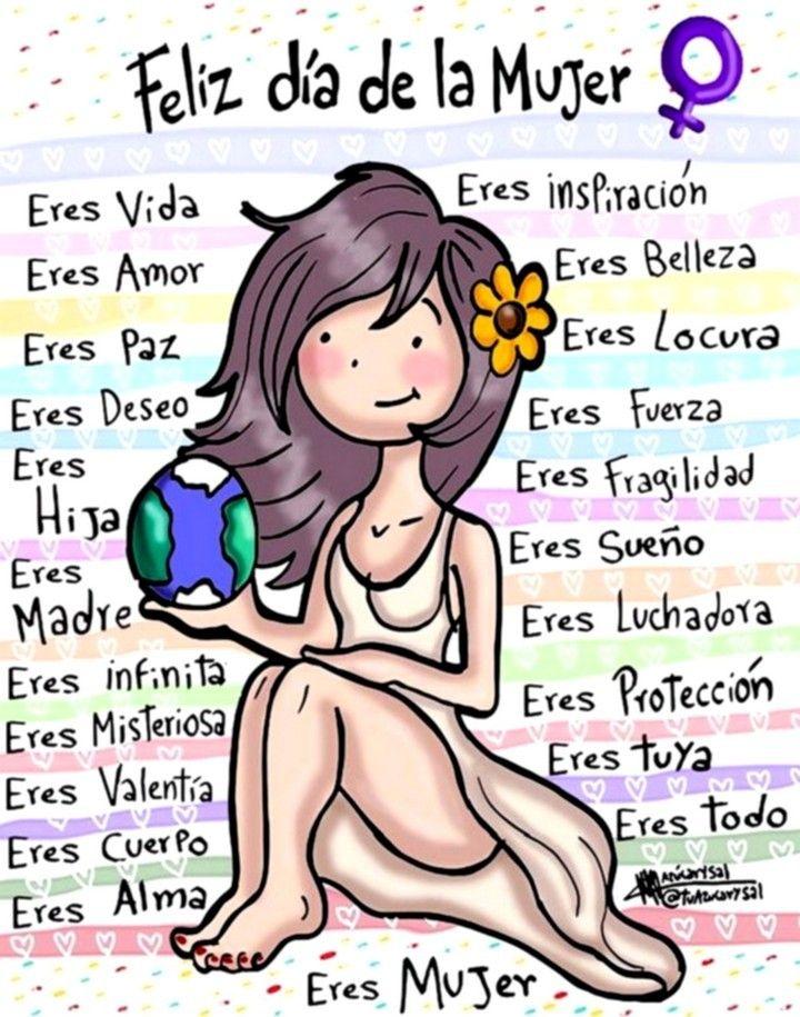 Maestra Asunción: Desde mi corazón. Día Internacional de la Mujer.
