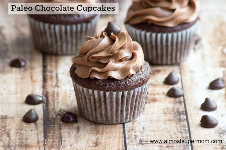 Paleo/Gluten Free Chocolate Cupcakes - These cupcakes are so delicious, you won't even notice that they are grain free!